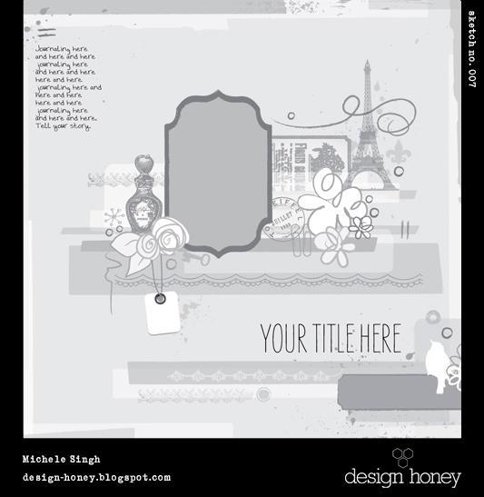 design honey sketch no. 007