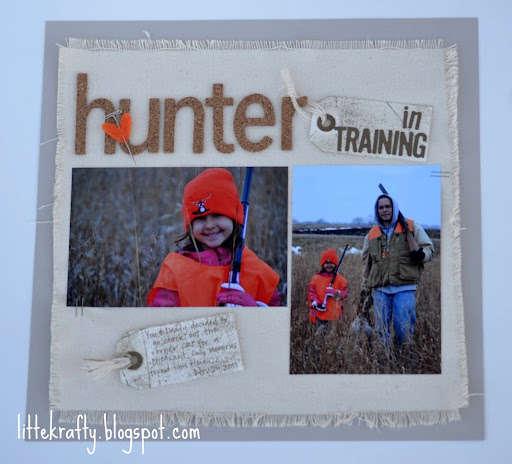 Pg 1 of 2 Hunter in Training