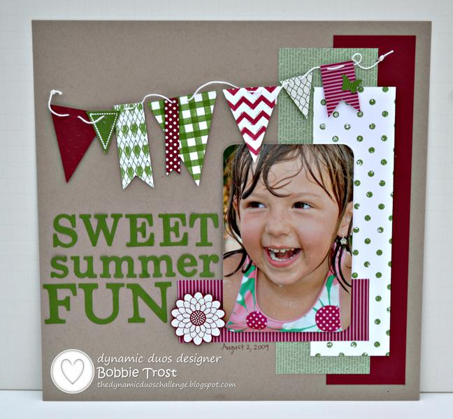 3 Page Summer Layout