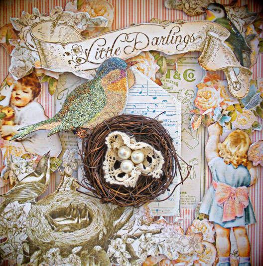 Little Darlings Shadow Box