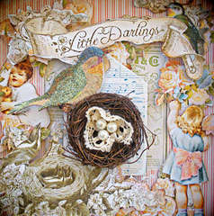 Little Darlings Shadow Box