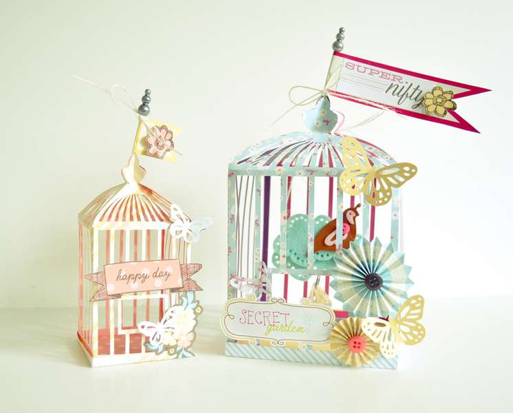 American Crafts Birdcages