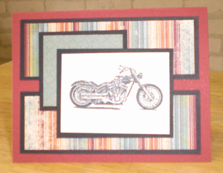 Motorcycle Notecard for OWH