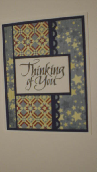 """Thinking Of You"" Card for OWH"