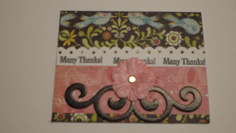 """""""Many Thanks!"""" Card for OWH"""