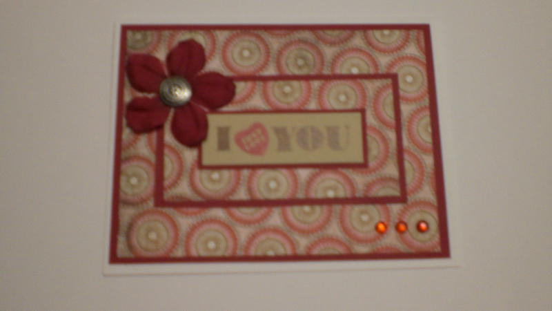 """""""I Just Love You"""" Card for OWH"""