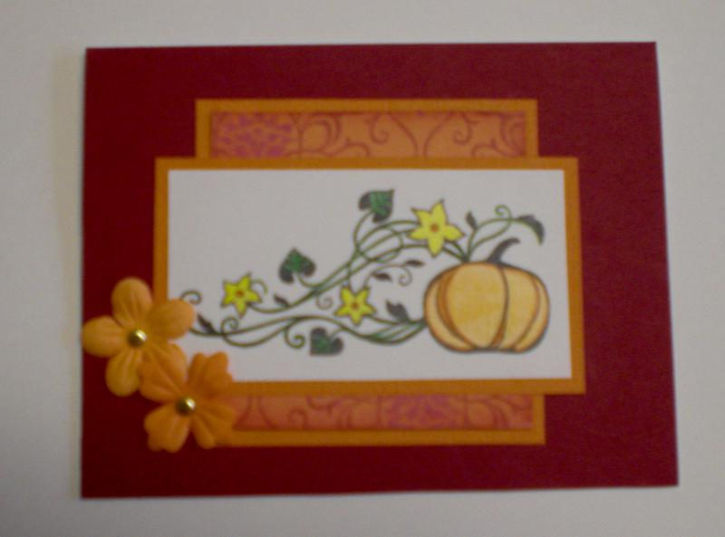 Fall Card for OWH