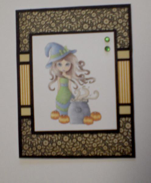 Cuttlebug Cuties Hallows Eve Card for OWH