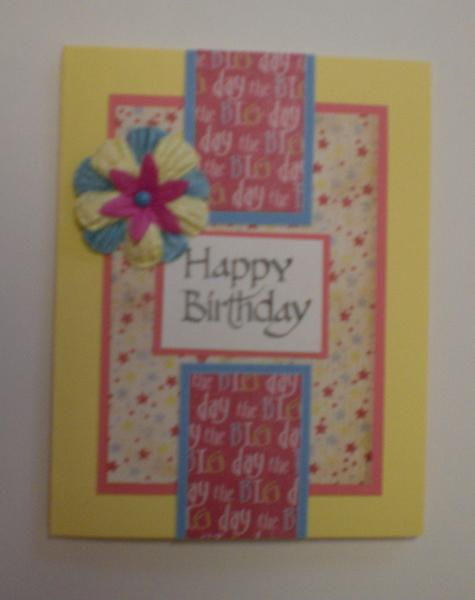 """""""Happy Birthday"""" Card for OWH"""