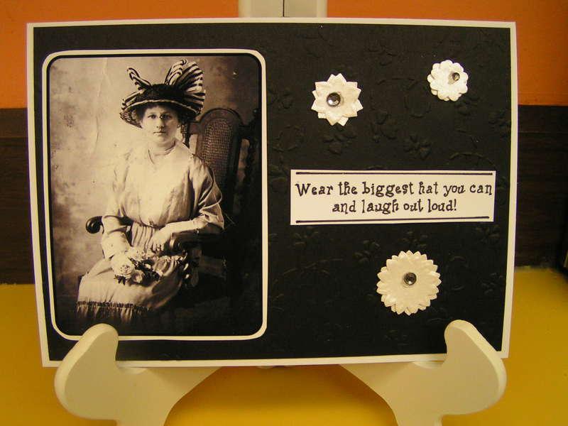 Heritage fun card