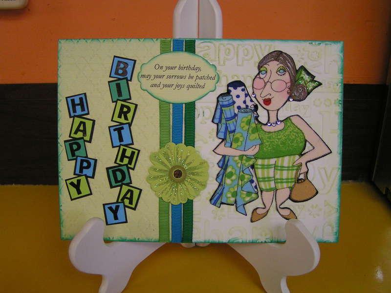 Quilt Lady birthday