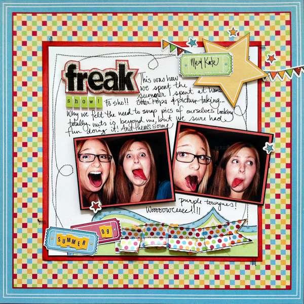 """""""Freak show"""" by Brittny Kilvaug"""