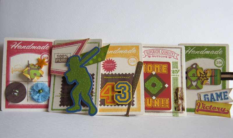 """Baseball"" Cards by Emily Branch"