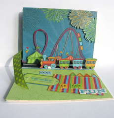 Loops and Scoops Card by Emily Branch