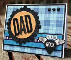 Happy Birthday Card for Dad by Nicole Wise