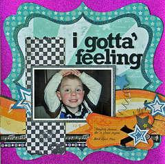 """I gotta felling"" by Liz Chidester"