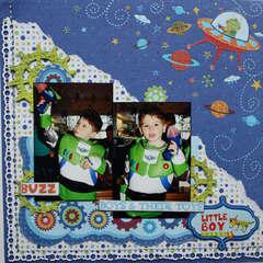 Little Boy turns 4 by Mireille Divjakk