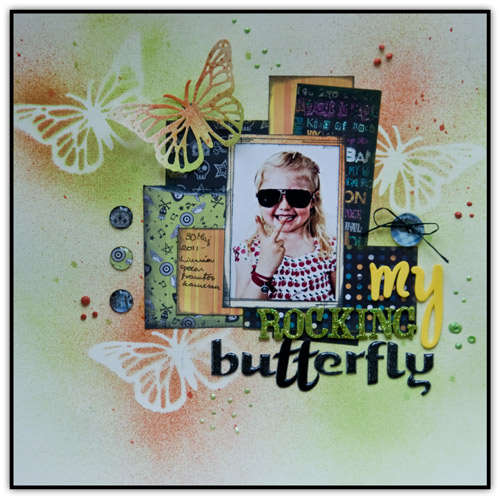 """My Rocking Butterfly"" by Katarina Damm"