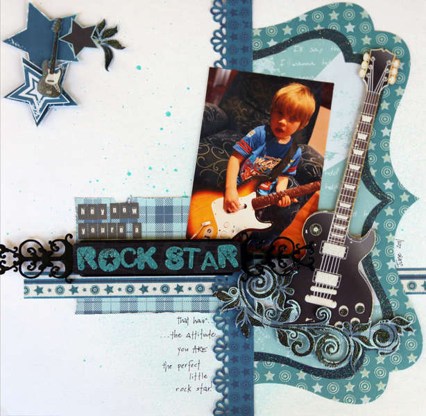 """Rock Star"" by Alicia Barry"