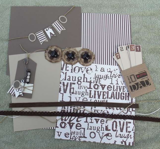 Father's Day Page Kit