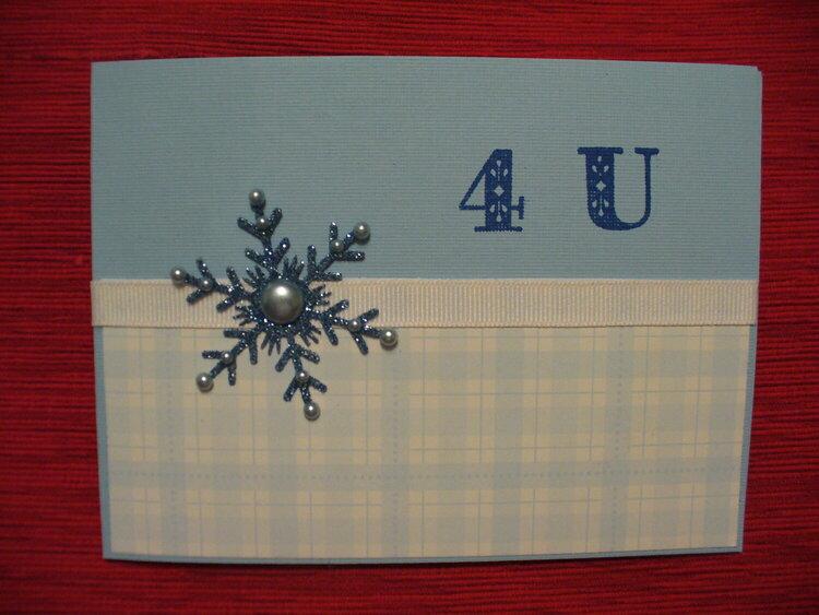 4 U-Snowflake