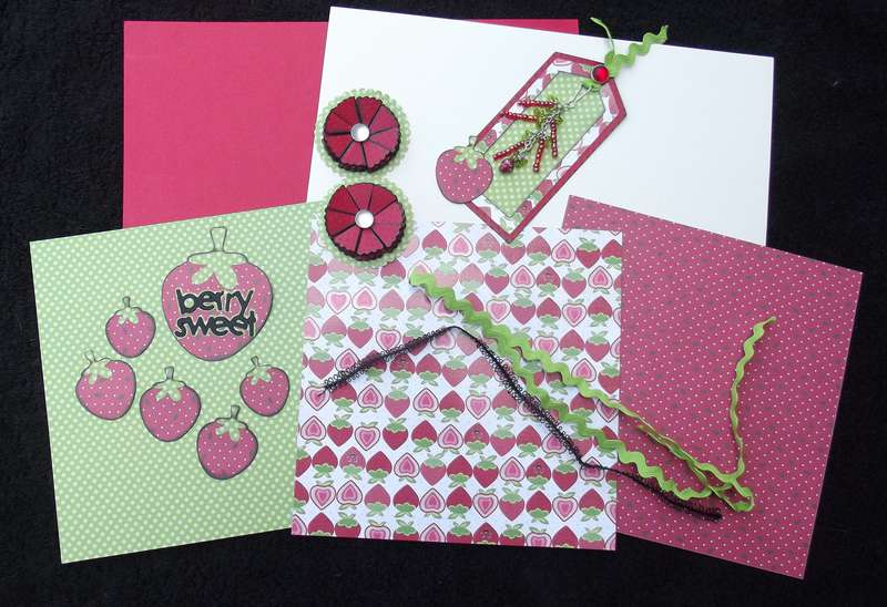 Strawberry Festival Page Kit