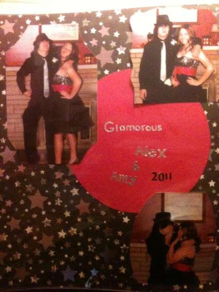 Glamorious Alex & Amy