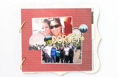 Dorset, England Mini Album Pages