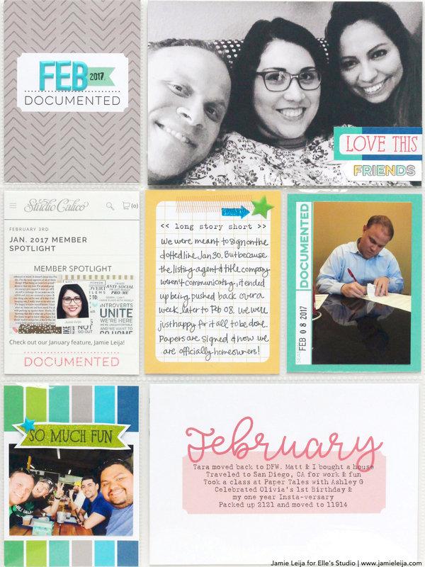 Monthly Memories February