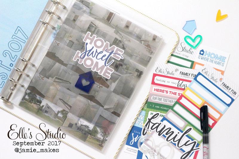 Home Sweet Home Mini Pocket Album