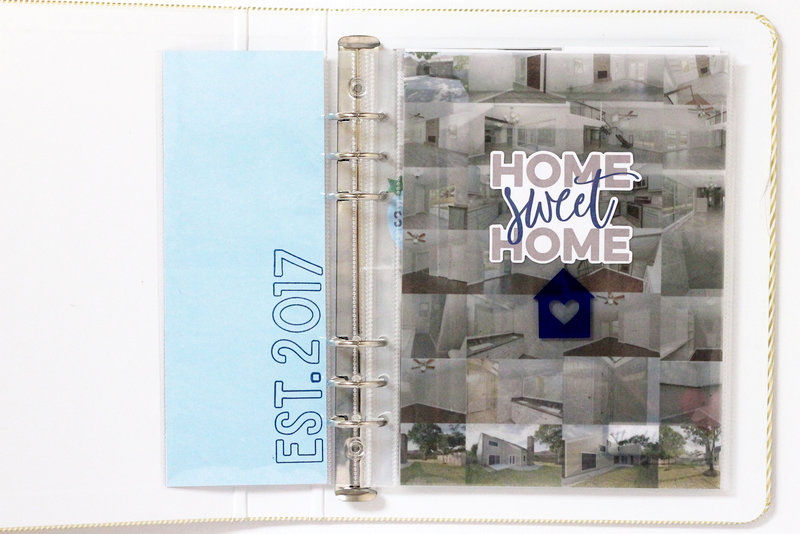 Home Sweet Home Mini Pocket Album