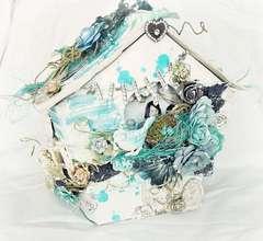 *Prima* Canvas Birdhouse Mini Album -