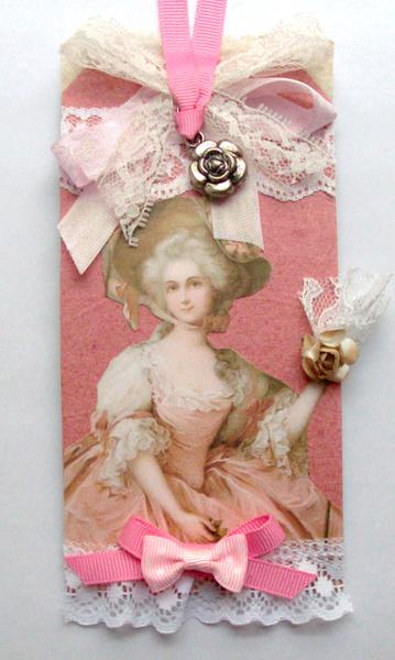 Marie Antoinette Lace & Ribbons Tag