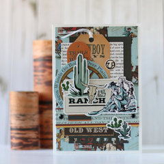 """Cowboy Country' card"