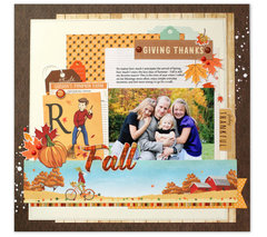 Carta Bella Autumn layout