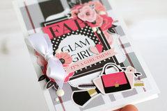 """Glam Girl"" card"