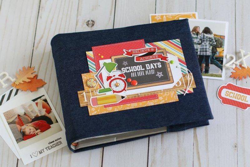 School Days mini book