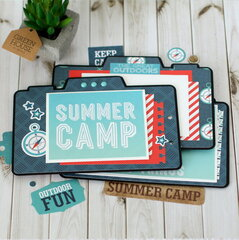 Camp Mini Book