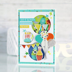 Birthday card for a boy