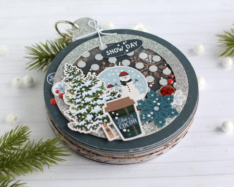 Ornament shaped Mini Book