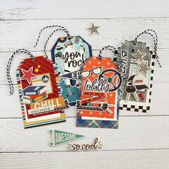 A set of tags