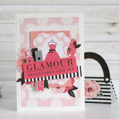 """Glamour"" card"