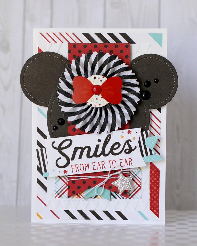 Echo Park Disney themed card