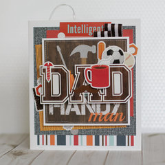 Echo Park Paper card for Dad