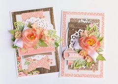 """""""Rustic Elegance"""" cards"""