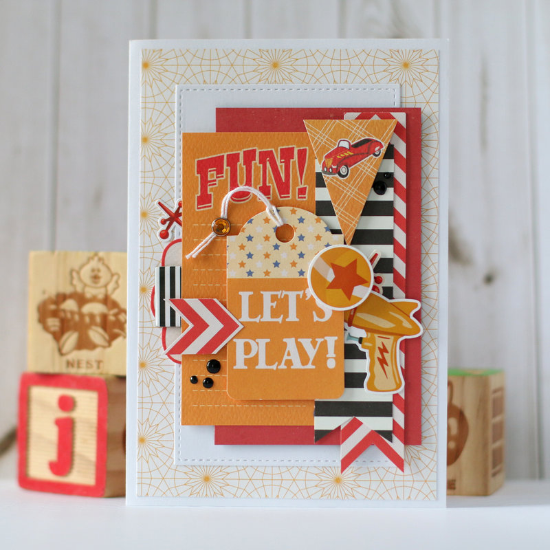 "Carta Bella ""Toy Box"" card"