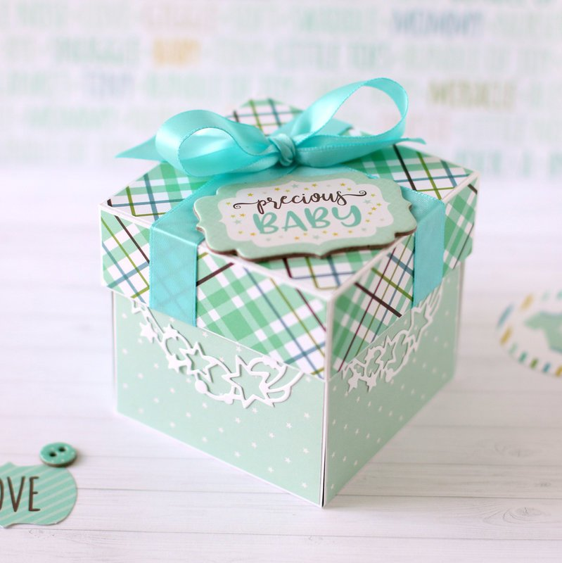 Baby Shower explosion box