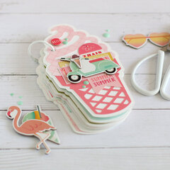 Ice Cream mini book