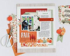 Fall layout