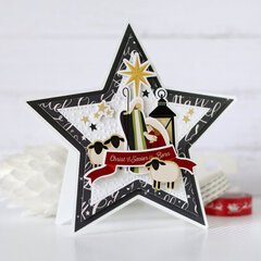Star shaped cards